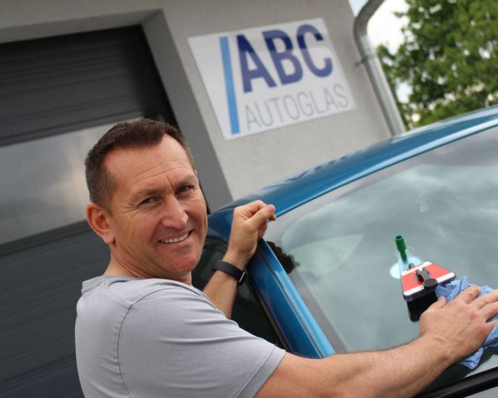Steinschlag reparieren von Windschutzscheibe in Straubing